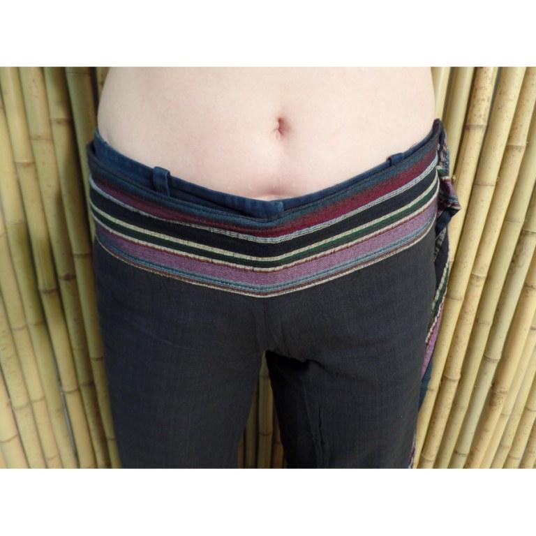 Pantalon Kaski noir