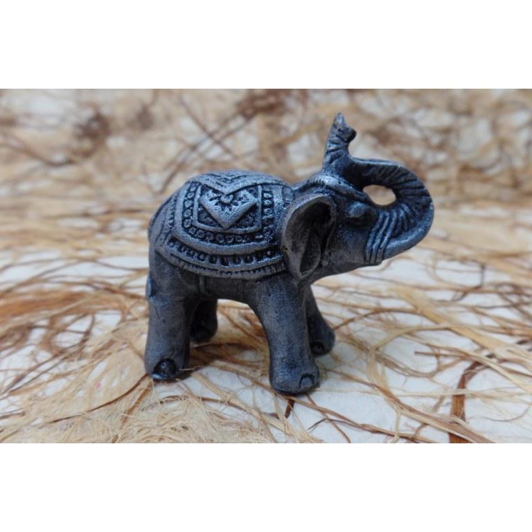 Eléphant miniature gris