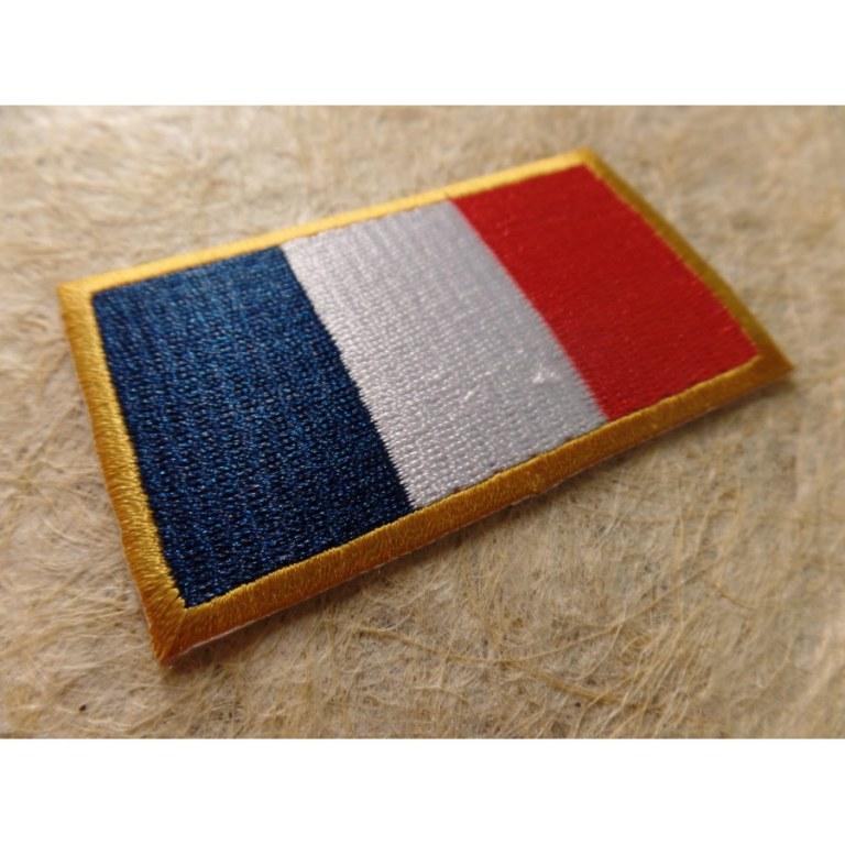 Ecusson drapeau français