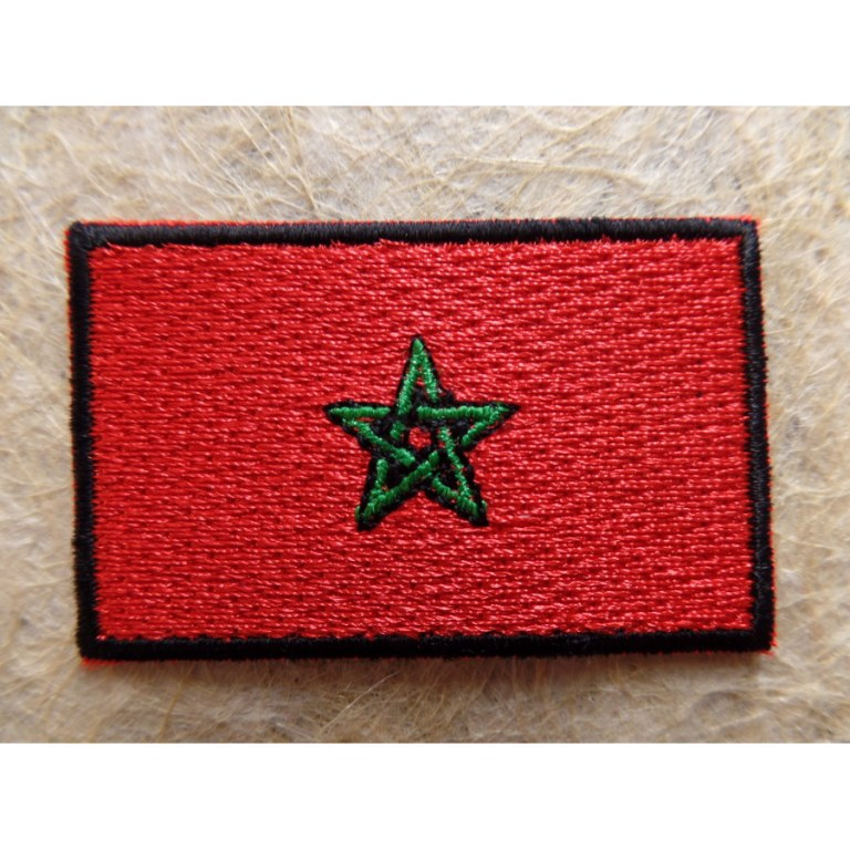 Drapeau marocain - Drapeau du maroc a imprimer ...