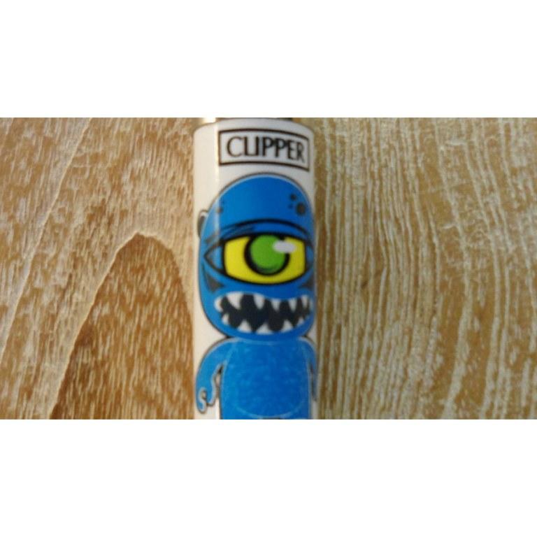 Briquet graffiti bleu