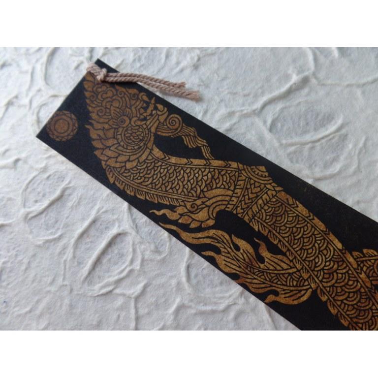 Marque page dragon
