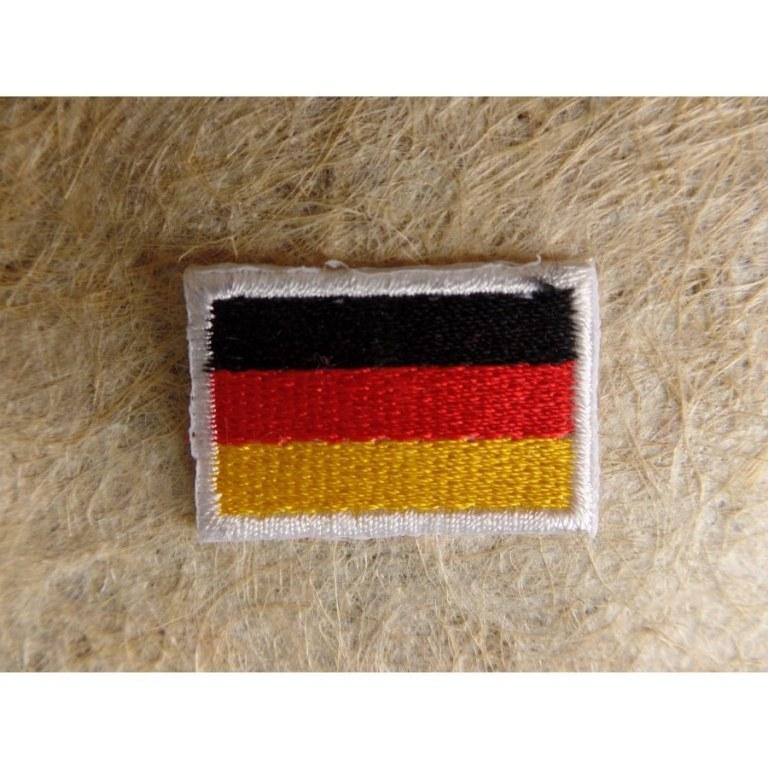 Mini écusson drapeau Allemagne