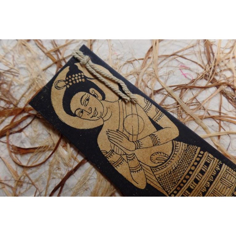 Marque page déesse hindoue en prière