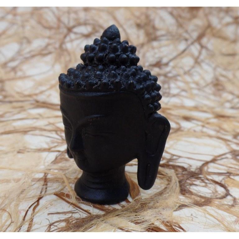 Petite tête Bouddha terre cuite