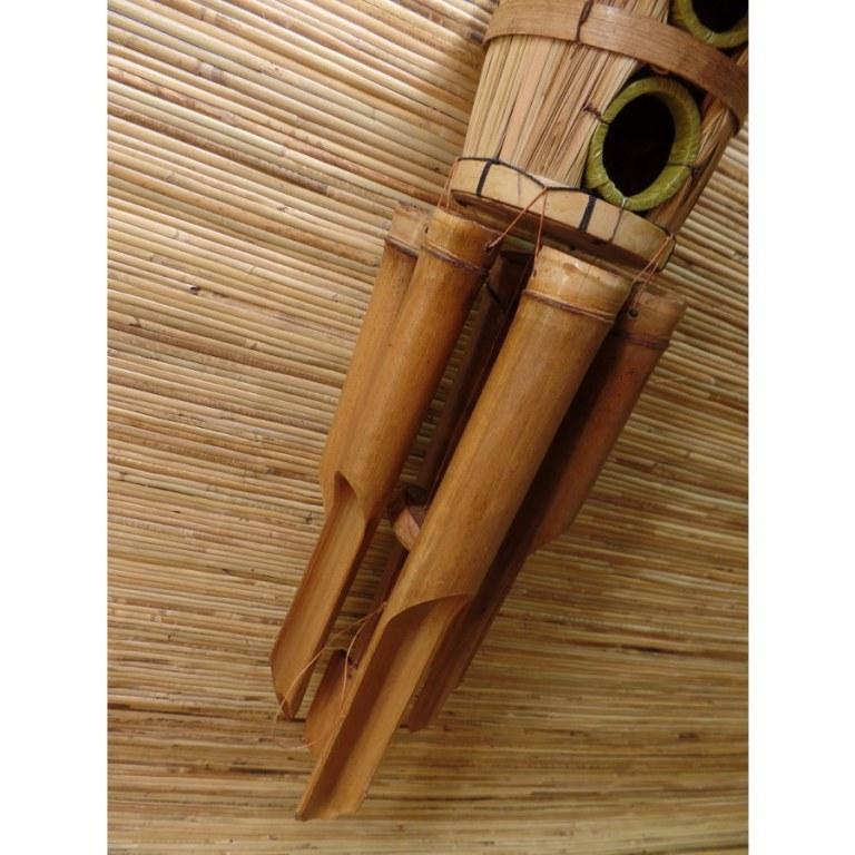 Nichoir carillon paillote 2 entrées