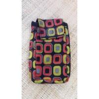 Pochette smartphone square noir color