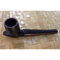 Pipe en bois black 2