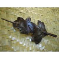 Barrette grenouille en coco