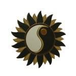 Miroir soleil yin yang