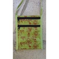 Sac passeport vert sanscrit Bouddha