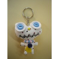 Porte clés monsieur sourire