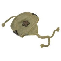 Bonnet péruvien fleuri 1