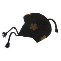 Bonnet péruvien fleuri 3