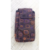 Pochette portable square marron