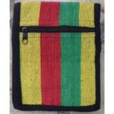 Sac passeport weaving jaune vert rouge