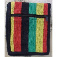 Sac passeport weaving rasta
