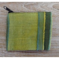 Porte-monnaie kérala pistache