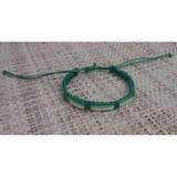 Bracelet  fantaisie linéa vert