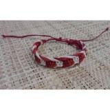 Bracelet fantaisie inspi rouge