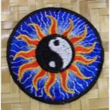 Patch soleil yin yang