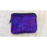 Porte-monnaie violet square