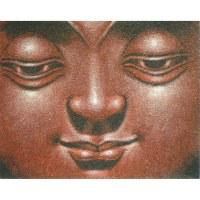 Petit tableau le sourire de Bouddha II