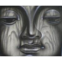 Petit tableau Bouddha le serein