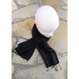 Foulard Isan soie noire