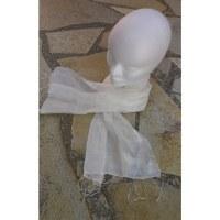 Foulard Isan soie blanche