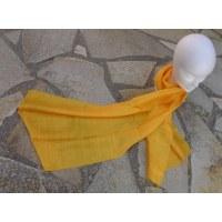 Foulard Isan soie jaune
