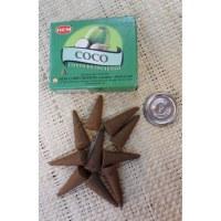 Cônes d'encens coco
