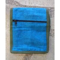 Sac passeport bleu