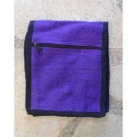 Sac passeport violet