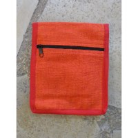 Sac passeport orange