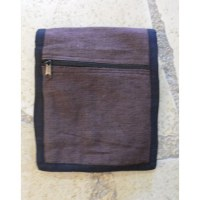 Sac passeport marron