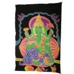 Paréo fluorescent Ganesh vert