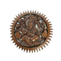 Sculpture ronde de Ganesh