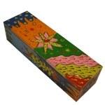 Boîte multicolore
