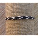Bracelet Lastri noir et blanc
