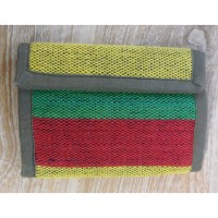 Portefeuille weaving rasta
