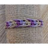 Bracelet sisalia mauve