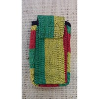Pochette portable weaving rasta