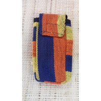 Pochette smartphone weaving rayé color