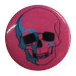 Badge skull pink