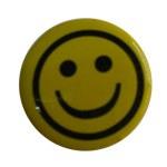 Badge round smiley