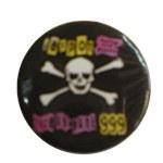 Badge tête de mort 999