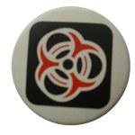 Badge tricolore tribale