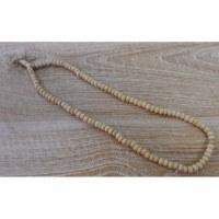 Akshamala 108 perles en os