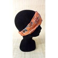 Bandeau cheveux floralia orange